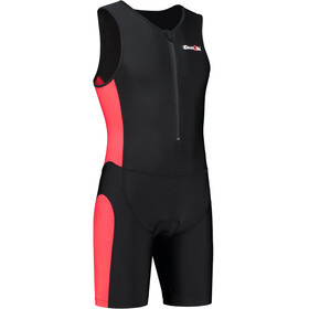 Dare2Tri Frontzip Trisuit Men red/black